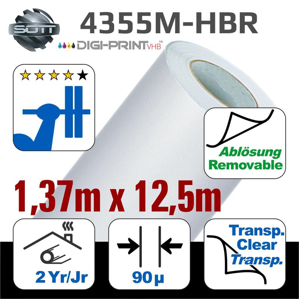 DigiPrint TeppichFolie Mt Weiß  ablösbar 20x20,20m   Sign o' the Times